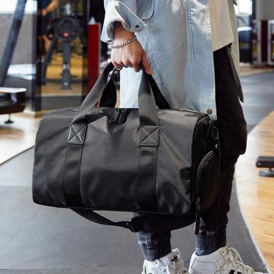 香炫儿(XIASUAR)经典款运动休闲健身包游泳包干湿分离旅行包独立鞋仓单肩包