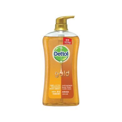 港版Dettol 滴露金装温和修护沐浴露经典保护 950g 保质期:2020-11(950g)