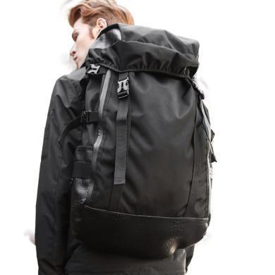 香炫兒XIASUAR 歐美潮牌雙肩包男士旅行休閑背包大容量戶外旅游登山包書包