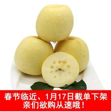 【顺丰包邮】华朴上品 山东苹果奶油富士 新鲜水果苹果