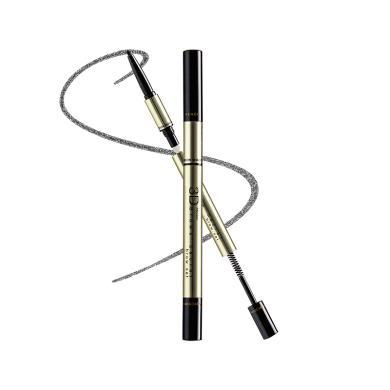 泰国 蜜丝婷 mistine 3D立体眉笔+眉粉+染眉膏 三合一 深棕色
