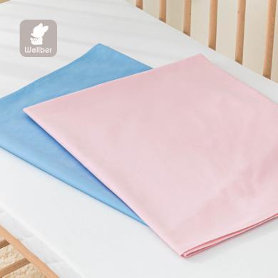 威爾貝魯新生嬰幼兒床床單純棉嬰幼兒寶寶兒童床單小孩幼兒園床單