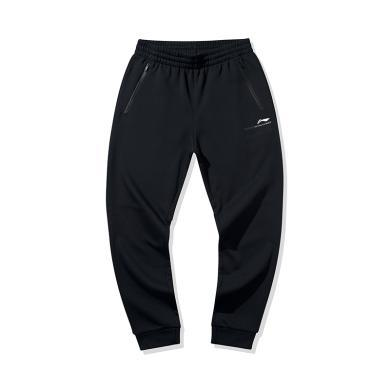 李宁卫裤男士2020新款篮球系列男装裤子收口针织运动长裤AKLQ063
