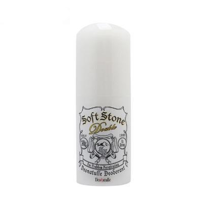 【支持購物卡】2瓶*日本 Deonatulle soft stone 腋下干爽止汗消臭石 強去汗味 20g/瓶