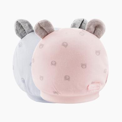 CHOUCHOU丑丑婴幼新生儿胎帽秋冬新款男女宝宝保暖帽子
