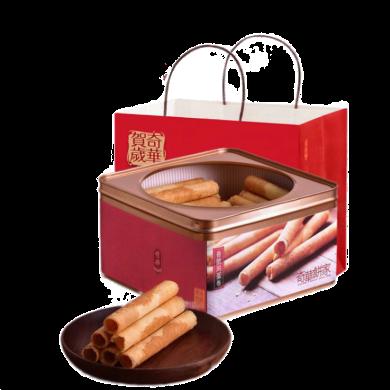 中國香港 奇華手工雞蛋卷 禮盒裝  進口零食餅干【360g款 400g款隨機發】