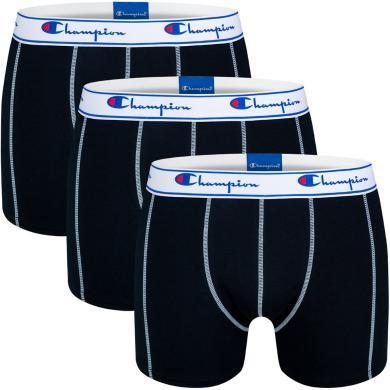 CHAMPION冠军男款平角短内裤(3只装)Y081T-3