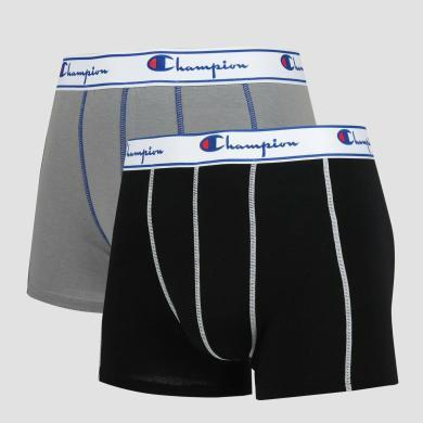 CHAMPION冠軍男款平角短內褲(2只裝)Y081T-2