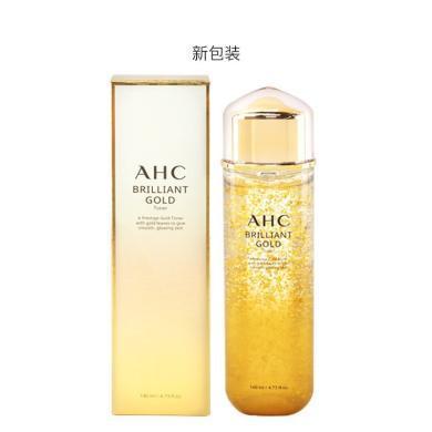 韩国AHC 金箔水溶黄金玻尿酸爽肤水 140ml