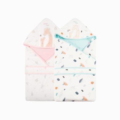 丑丑嬰幼 初生寶寶棉包被 春秋冬季加厚款新生兒卡通可愛加棉抱被 COA403X