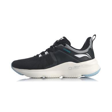 李宁跑步鞋女鞋2020新款Soft Plus一体织透气女士低帮运动鞋ARHQ024