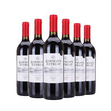 澳洲原瓶進口紅酒 奔富紅酒 設拉子紅葡萄酒750ml *6