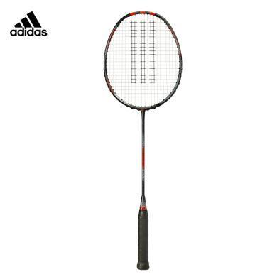 阿迪達斯adidas羽毛球拍 全碳素球拍 高彈性纖維毛球拍 阿迪羽毛球拍 進攻防守型羽毛球拍