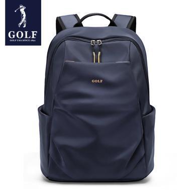 高爾夫/GOLF新款高中大學生書包韓版雙肩包大容量15.6寸電腦包商務背包男 D933955