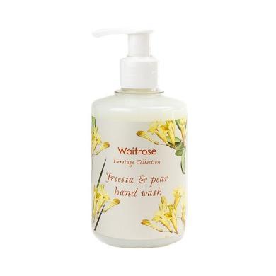 【支持購物卡】英國 WAITROSE 小蒼蘭與梨洗手液 250ML  殺菌消毒