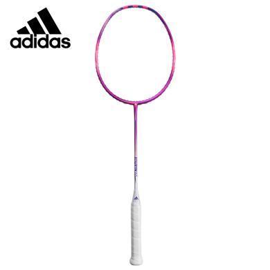 ADIDAS羽毛球拍  粉白色羽毛球拍  專業比賽級羽毛球拍 有網 阿迪達斯正品RK601501