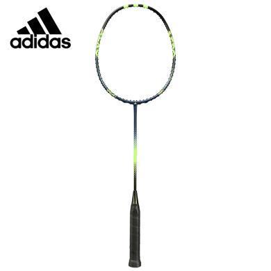 阿迪達斯(adidas)羽毛球拍 SPIELER E AEROMB0174 羽毛球拍碳纖維 羽毛球拍空拍MB0174