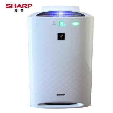 夏普(SHARP)KC-CD30-W 空氣凈化器家用除霧霾PM2.5甲醛室內臥室氧吧加濕
