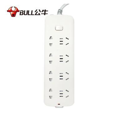 公牛(BULL)GN-S1440 新國標 公牛插座排插線板插排接線板電源轉換器插板家用拖線板