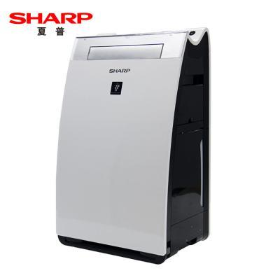 夏普(SHARP) KI-GF60-W 空氣凈化器智能遙控除菌除甲醛霧霾凈化機家用加濕器 白色 適用面積40㎡