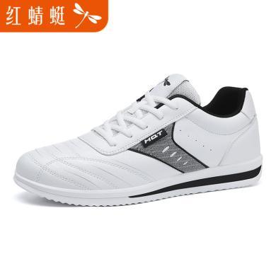 红蜻蜓男鞋春夏新品时尚运动休闲男鞋透气板鞋191625