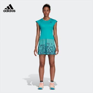 阿迪達斯 Adidas 連衣裙女2020春夏新款短袖運動裙CW7054