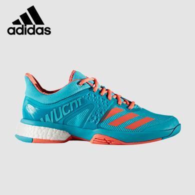 阿迪達斯 Adidas 運動鞋女子休閑鞋羽毛球鞋BY1823