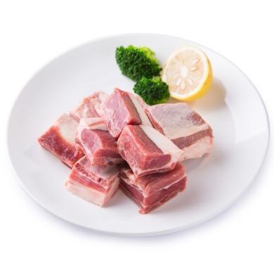 羊肋排切塊新西蘭進口羊排塊燒烤火鍋