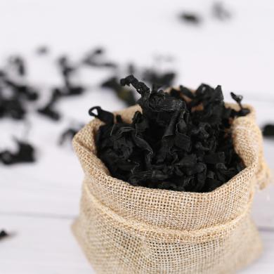 裙带菜无沙螺旋藻干货海木耳海带芽北海凉拌菜海白菜特产500g gx14