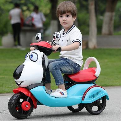 新兒童電動車摩托車2-3-6歲寶寶電動三輪車小孩可充電可坐人