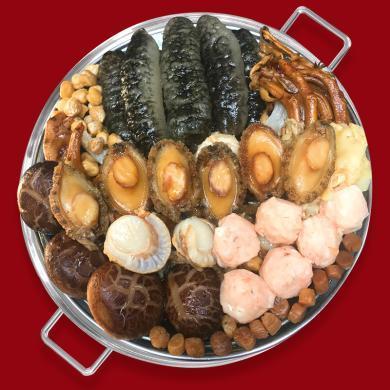 正宗佛跳墻加熱即食鮑魚海參大盆菜海鮮禮包半成品禮盒6人份