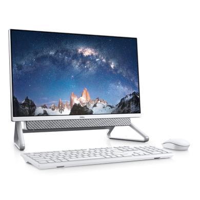 一体机 电脑 台式机 台式电脑 戴尔 Dell 灵越AIO 5490一体机电脑 23.8英寸微边框台式机 十代i5-10210 8G内存 1T+256G固态双硬盘 2G独显 win10 网课 大屏窄边