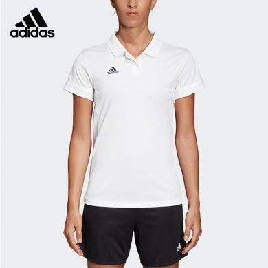 adidas短袖T恤polo衫女款T恤春夏T恤DW6878