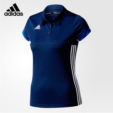adidas短袖T恤polo衫女款T恤春夏T恤AJ5274