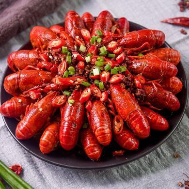 (買一送一)麻辣十三香小龍蝦熟食860克盒 即食十三香味鮮活小龍蝦