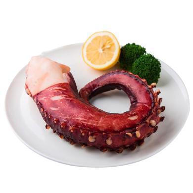 崇鮮熟凍章魚足350-400g/袋*3袋八爪魚足海鮮刺身