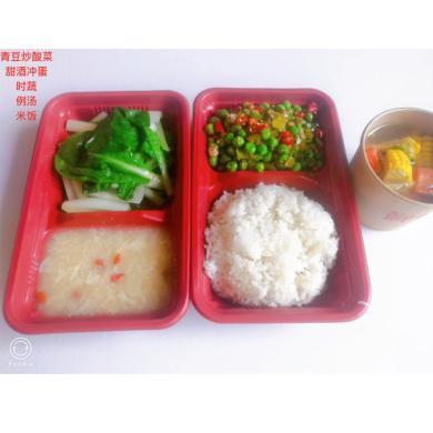 青豆炒酸菜套餐