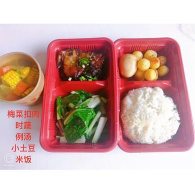 梅菜扣肉飯套餐