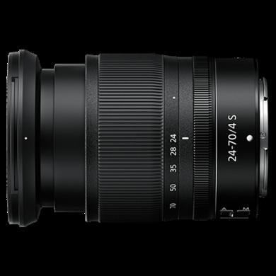 尼康(Nikon)Z 24-70 F4 S 全畫幅微單鏡頭  定焦 Z卡口 微單 尼克爾鏡頭 適用于尼康 Z6 Z7 Z50