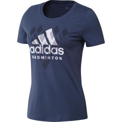 阿迪达斯adidas 短袖T恤女纯棉夏季2020新款圆领T恤FM5572