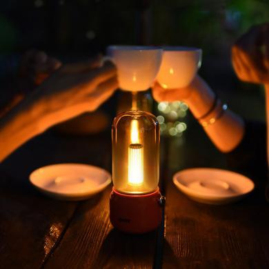 Lofree 洛斐拾光燈 床頭燈 聲源感應小夜燈 燭光氛圍創意攝影禮品禮物裝飾臺燈