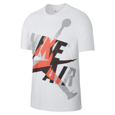 NIKE耐克男子AIR Jordan休閑運動短袖T恤CT6752