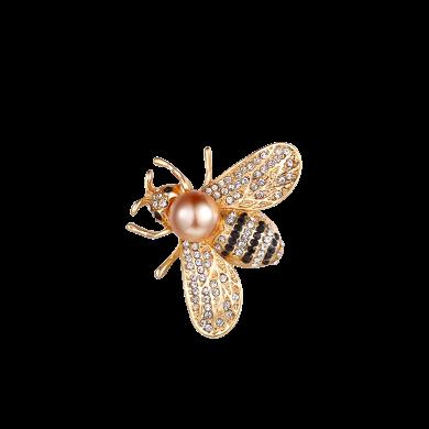 盈满堂 日韩可爱小蜜蜂胸针个性百搭别针外套服装配饰