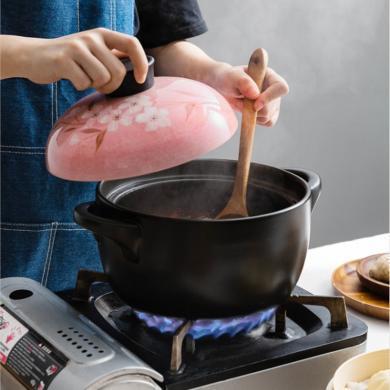 摩登主妇日式砂锅炖锅家用耐高温燃气陶瓷煮粥炖鸡石锅汤煲小汤锅