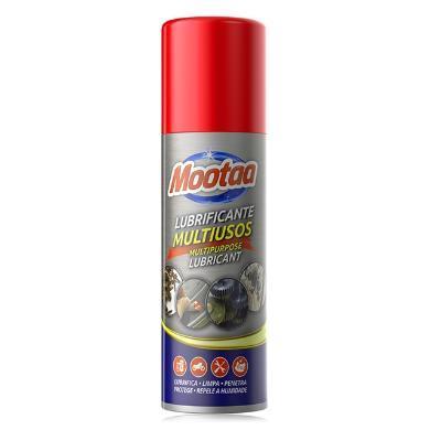 mootaa不銹鋼除銹劑汽車門把手自行車金屬強力防銹潤滑劑去污噴霧