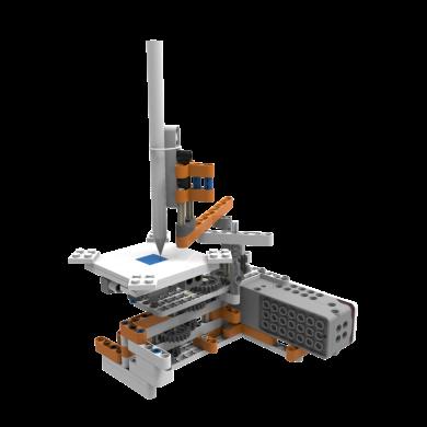 好帅HOST超霸机器人儿童智能编程STEM教育积木机器人DIY玩具电子模块多功能益智电动遥控编程玩具 两台竞技手机版HS-C6