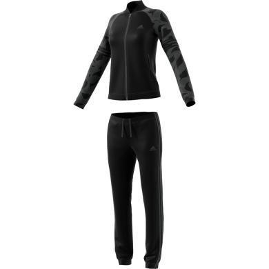 adidas運動套裝女戶外運動服套裝跑步健身休閑套裝CZ2333