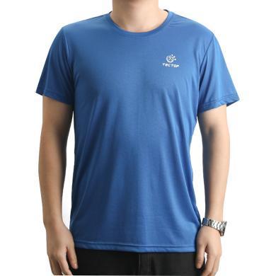 探拓户外速干T恤男款短袖运动透气登山服夏跑步速干衣