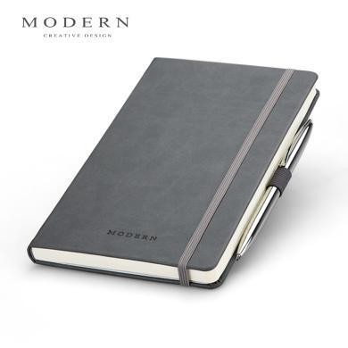 德國MODERN商務記事本 高檔隨身筆記本 創意會議本可定制帶金屬筆