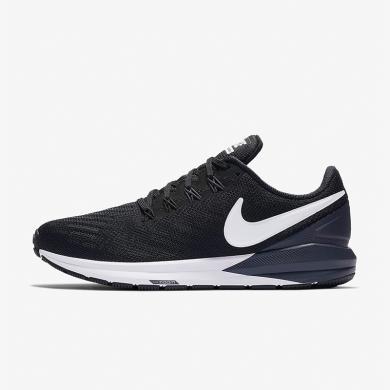 Nike耐克AIR ZOOM STRUCTURE 22女子運動緩震跑步鞋AA1640-002